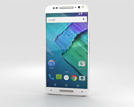 3D model of Motorola Moto X Style White