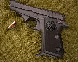 3D model of Beretta 70