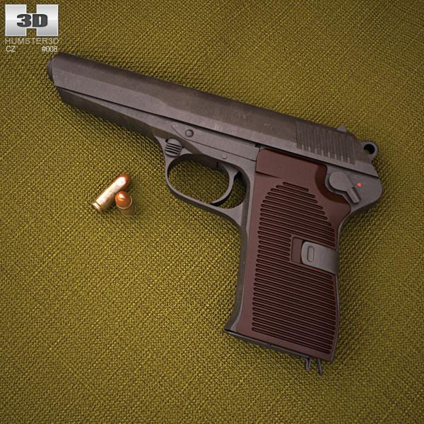 CZ 52 3D model