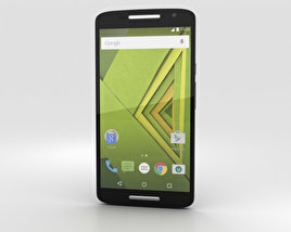 3D model of Motorola Moto X Play Black