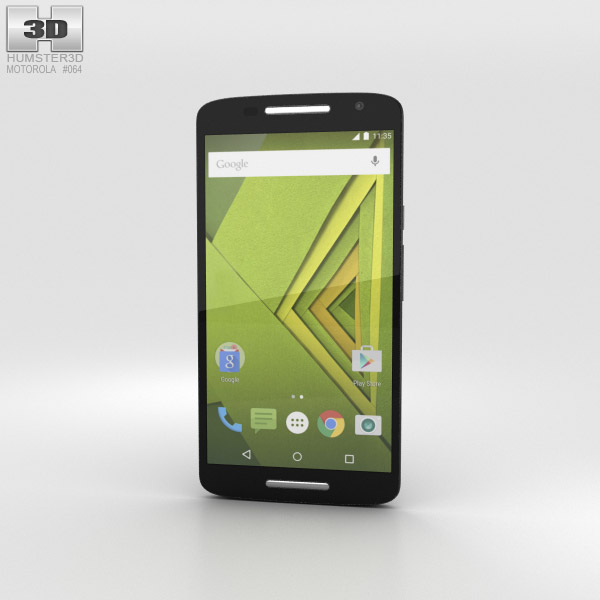 Motorola Moto X Play Black 3D model