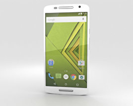 3D model of Motorola Moto X Play White