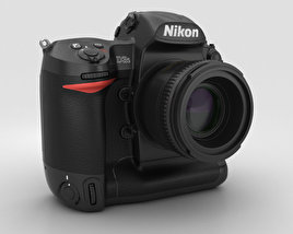 3D model of Nikon D3S