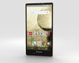 3D model of Sharp Aquos Ever SH-04G Gold