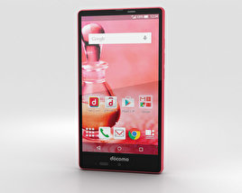 3D model of Sharp Aquos Ever SH-04G Pink