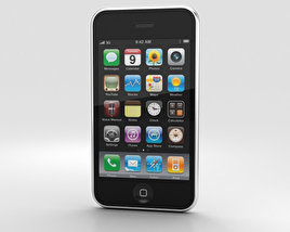 3D model of Apple iPhone 3G White
