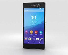 3D model of Sony Xperia M5 Black