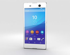 3D model of Sony Xperia M5 White