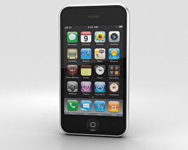 Apple iPhone 3GS Black 3D model