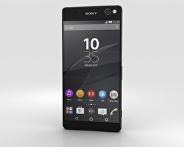 3D model of Sony Xperia C5 Ultra Black