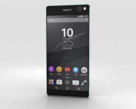 3D model of Sony Xperia C5 Ultra Mint