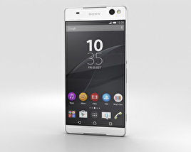 3D model of Sony Xperia C5 Ultra White