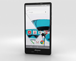 3D model of Sharp Aquos Ever SH-04G Black