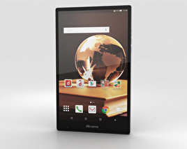 3D model of Sharp Aquos Pad SH-05G Black