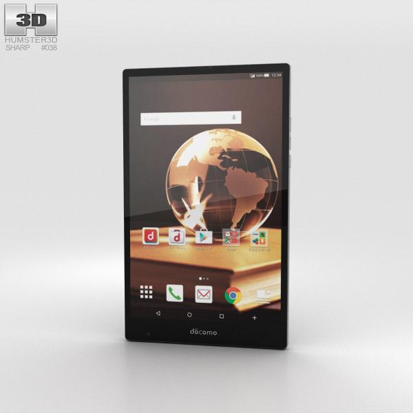 Sharp Aquos Pad SH-05G Black 3D model