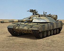 3D model of T-64BM Bulat