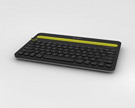 Logitech K480 Keyboard 3D model