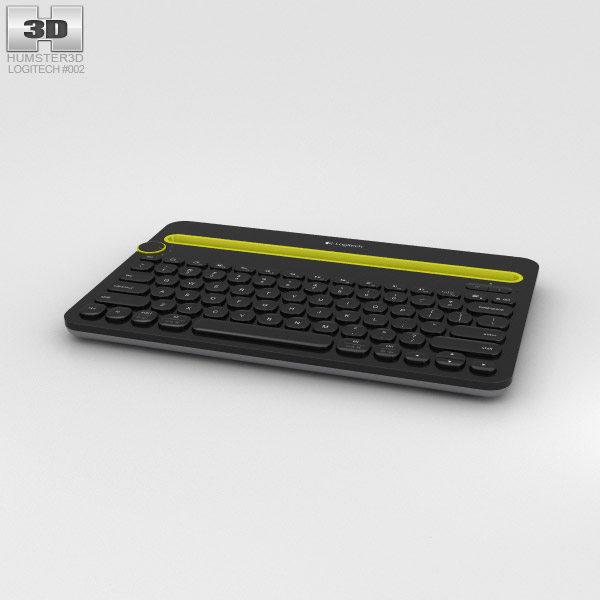 Logitech K480 Keyboard 3D model