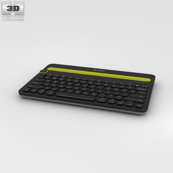 3D model of Logitech K480 Black