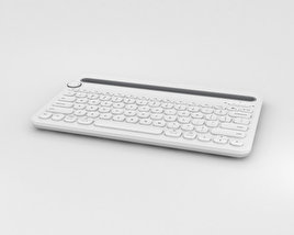 3D model of Logitech K480 White