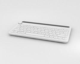 Logitech K480 Wireless Keyboard 3D model