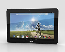 3D model of Acer Iconia Tab A3-A20FHD Black