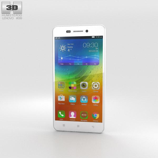 Lenovo S60 Pearl White 3D model
