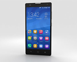 Huawei Honor 3C 4G White 3D model