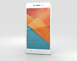 3D model of Oppo R7 Golden