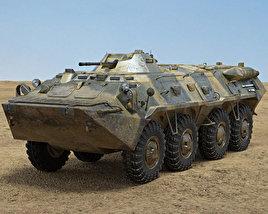 3D model of BTR-80