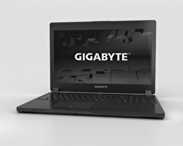 3D model of Gigabyte P35K v3