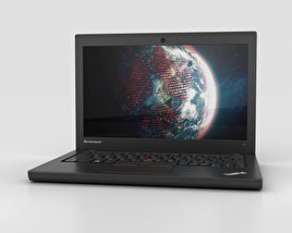 3D model of Lenovo ThinkPad X250