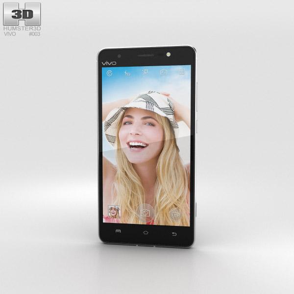 Vivo Xshot Black 3D model