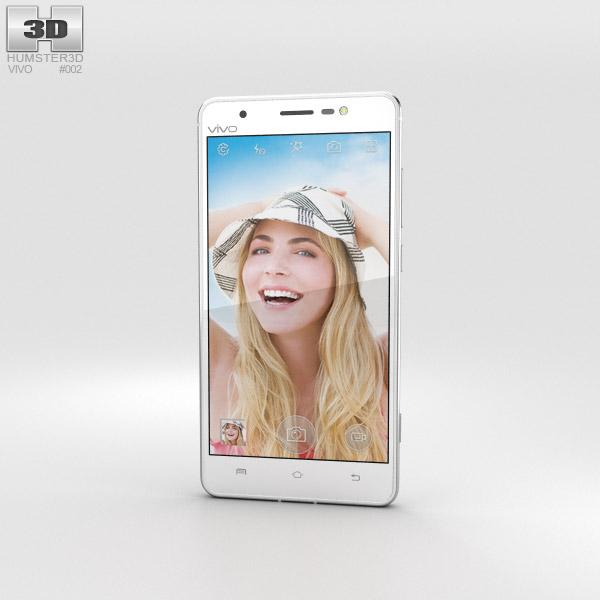 Vivo Xshot White 3D model