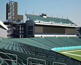 3D model of Lincoln Financial Field