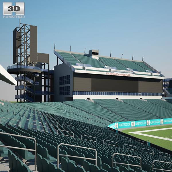 Lincoln Financial Field 3D model