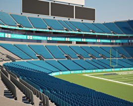 3D model of Bank of America Stadium