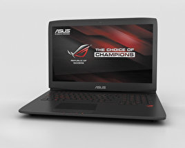 3D model of Asus ROG G751JT