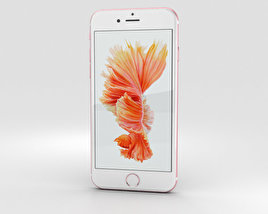 3D model of Apple iPhone 6s Rose Gold