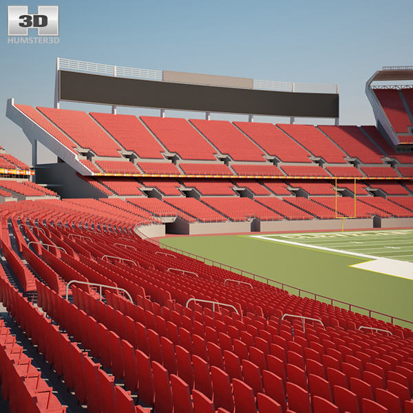 3D model of FirstEnergy Stadium