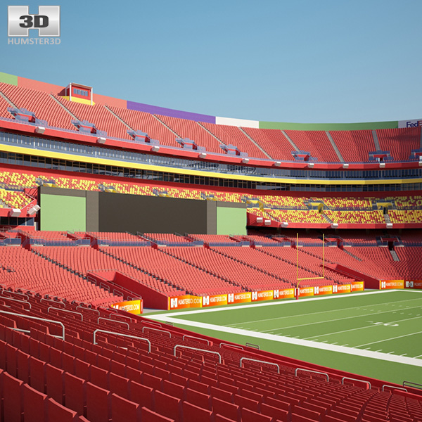 3D model of FedExField