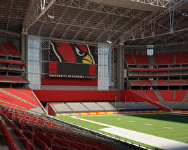 3D model of University of Phoenix Stadium