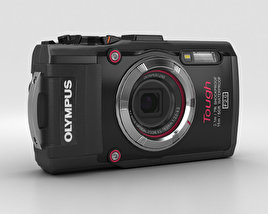 3D model of Olympus Tough TG-3 Black