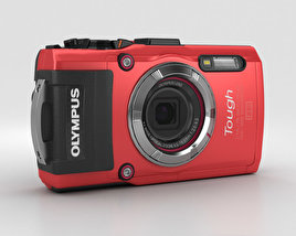 3D model of Olympus Tough TG-3 Red
