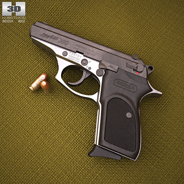 3D model of Bersa Thunder 380