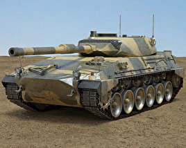 3D model of Tanque Argentino Mediano