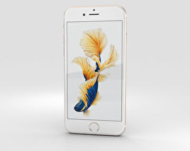3D model of Apple iPhone 6s Gold