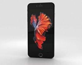 Apple iPhone 6s Plus Space Gray 3D model