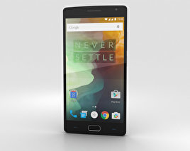 3D model of OnePlus 2 Sandstone Black