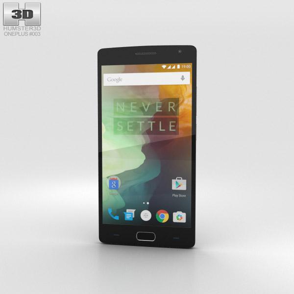 OnePlus 2 Sandstone Black 3D model
